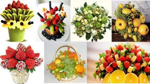 Букети от плодове
