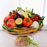 Снимка 61: Букет от плодове и зеленчуци