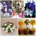 Снимка 34: Цветя - оригами до 8 март