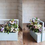 Снимка 72: Букет в кутия
