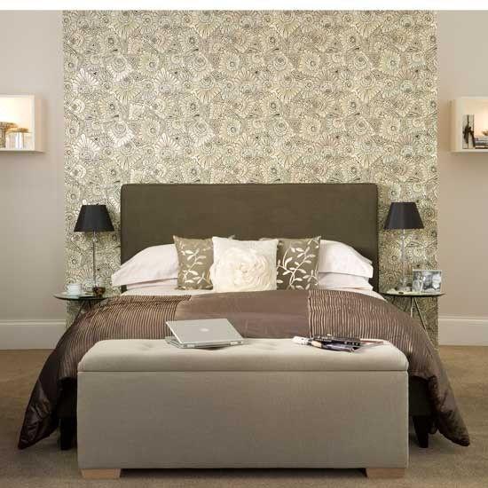 Изберете тапет в препоръките за спалнята