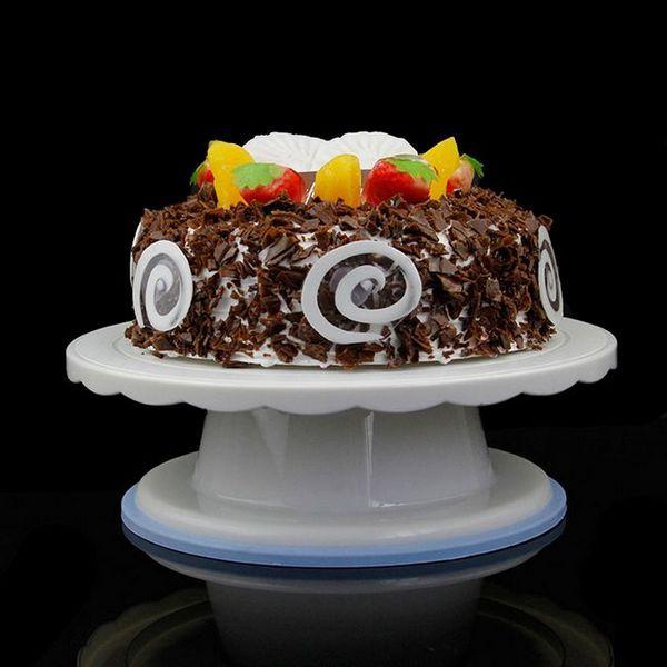 Изберете въртяща се поставка за торта