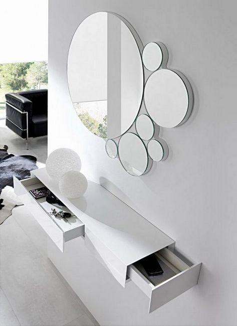 Моделиране на огледалото в коридора