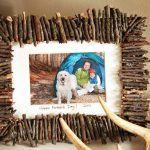 Снимка 50: Рамка от пръчки