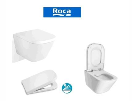 Окачени тоалетни чинии от компанията Roca
