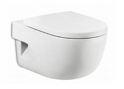 Тоалетна чиния от серията Meridian на бял цвят