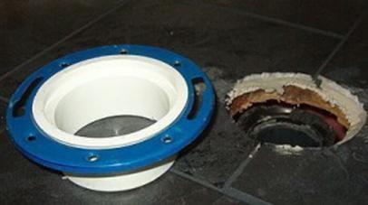 Елемент за монтаж на тоалетна с вертикален изход