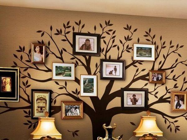 Забавни идеи за родословно дърво