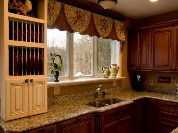 Завеси в кухнята снимка и идеи