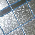 Снимка 33: Синя фугираща смес за сиви плочки