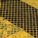 Снимка 35: Жълта фугираща смес върху черна плочка