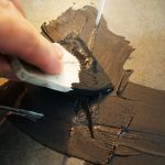 Снимка 36: Златист кафяв кант