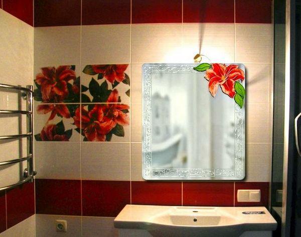 Огледало за баня със светлина