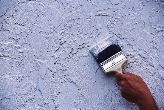 Течен тапет в банята (снимка) - безшевна стена